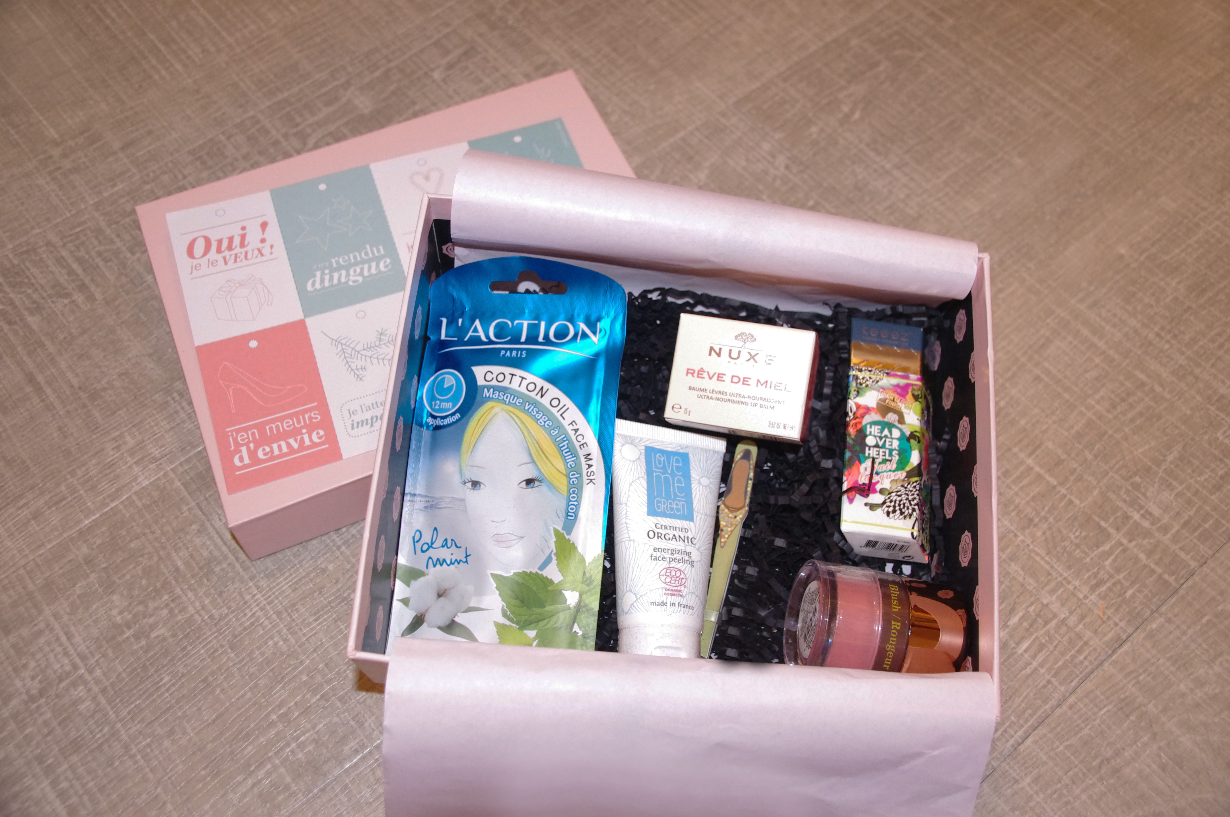 glossybox get ready novembre 14
