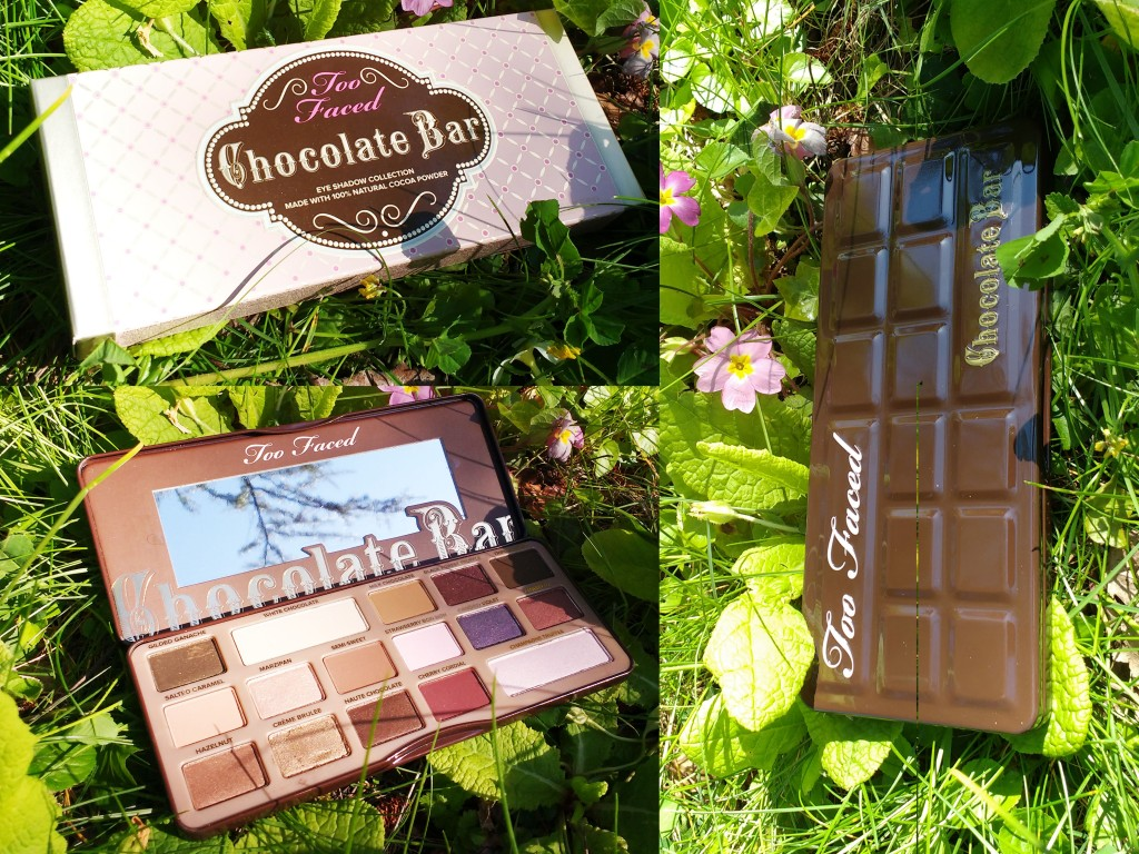 Chocolate bar palette Too faced