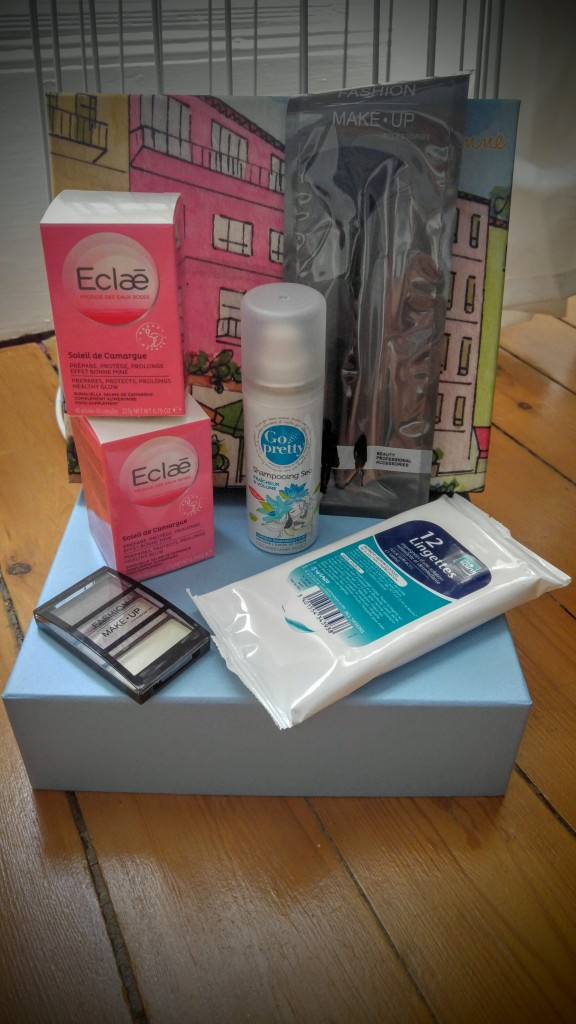 box beauté, review, revue, haul, avis, test, my sweetie box, la tropezienne, aout 2016, blog mode, blogueuse mode