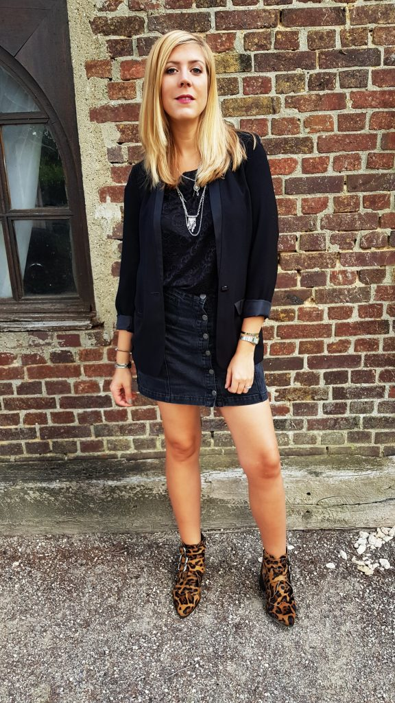 total look noir, black outfit, ootd, ootn,tenue du jour, blog mode, blogeuse mode, lookbook, forever 21, babou, New look, , nafnaf,