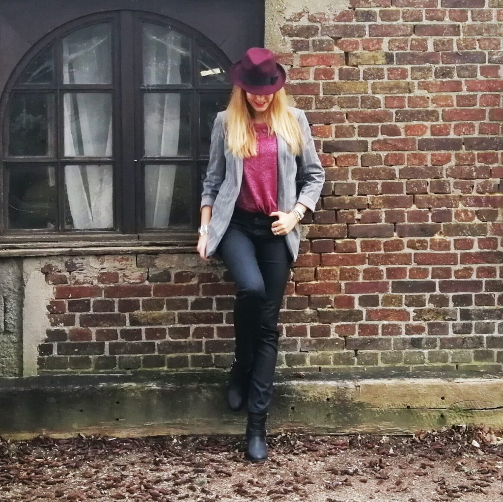 timezone, hat, chapeau, look, ootd, tenue du jour, outfit of the day, Mj inspired look, Calvin klein jacket, look bureau vs soirée, work to party, inspo